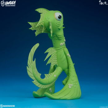 Fish Face Designer Toy full view 3/4ths right view