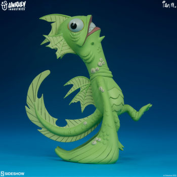Fish Face Designer Toy full view right side