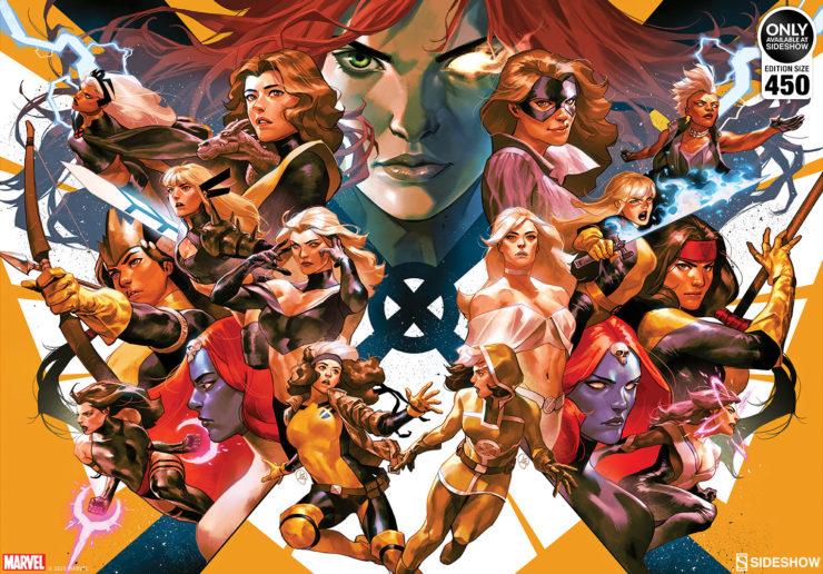House of X/Powers of X Fine Art Print by Artist Yasmine Putri