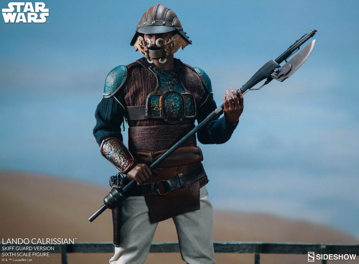Infiltrate the Palace with the Lando Calrissian Skiff Guard Version Sixth Scale Figure