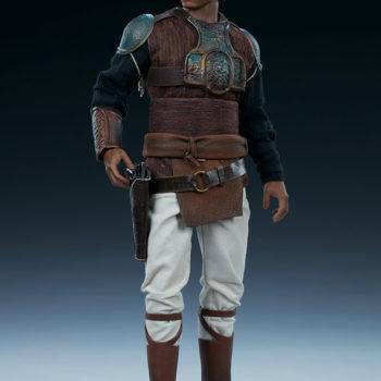 Lando Calrissian Skiff Guard Version Sixth Scale Figure full body front view