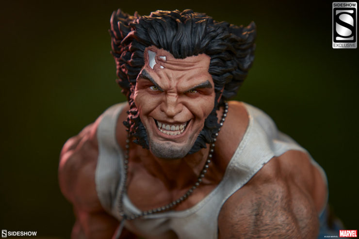 Rip Into New Photos of the Logan Premium Format™ Figure
