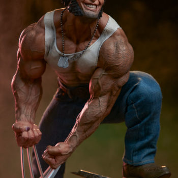 Logan Premium Format Figure Exclusive Edition 3/4th's right view