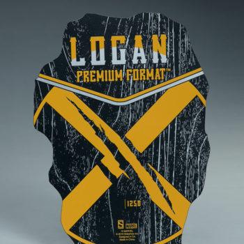 Logan Premium Format Figure Exclusive Edition base