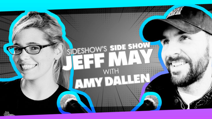 Amy Dallen Discusses Comic Book Shops, The Many Sides of Fandoms, and More on Sideshow's Side Show with Jeff May