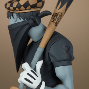 Smiles Designer Toy close up on hat and bat and gloves
