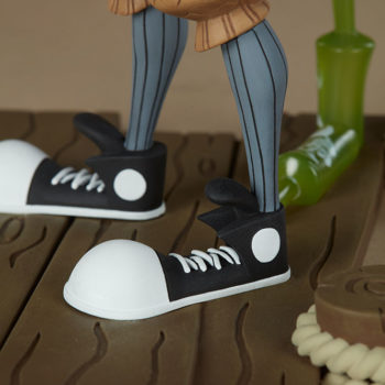Smiles Designer Toy close up on shoes