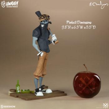 Smiles Designer Toy size comparison to apple