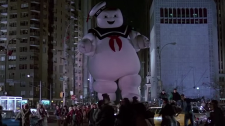 The Ghosts in Ghostbusters