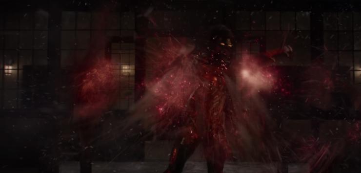 The New Mutants Trailer- Red Energy Attacks the Children