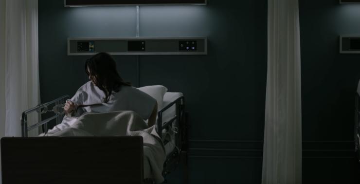 Dani Moonstar Handcuffed to a Hospital Bed