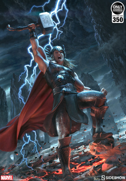 You Are Worthy of the Thor: Breaker of Brimstone Fine Art Print by artist Jerry Vanderstelt