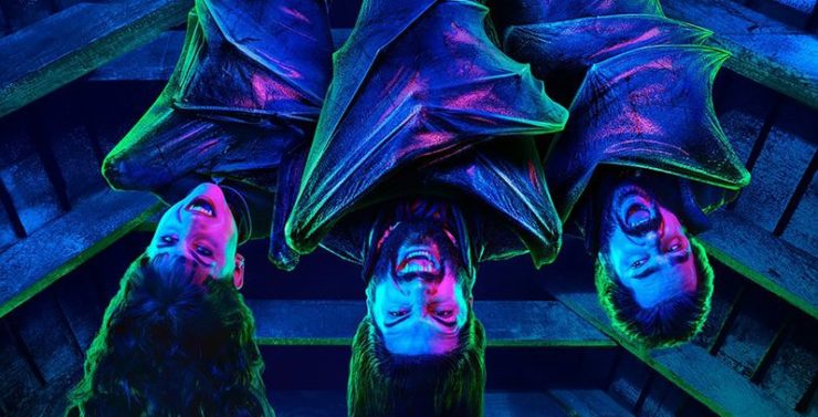 What We Do in the Shadows FX Television- Vampires Hanging Upside Down