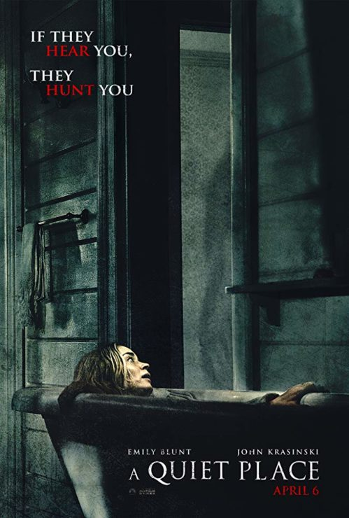 A Quiet Place Poster with Emily Blunt