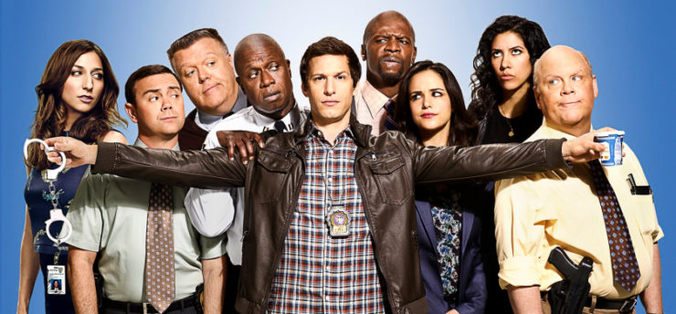 Brooklyn Nine-Nine Cast Promo Image
