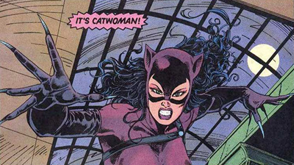 Classic Catwoman Purple Costume