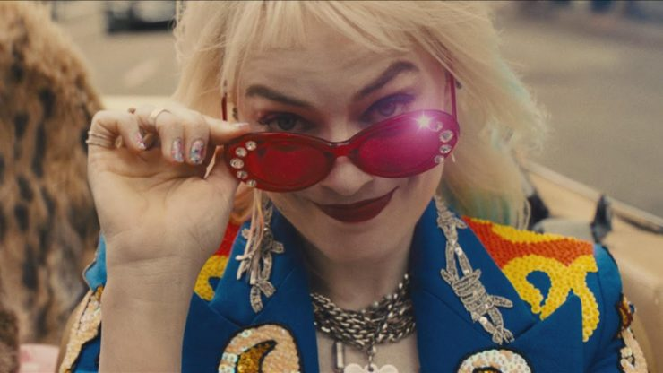 Harley Quinn Lowering Sunglasses