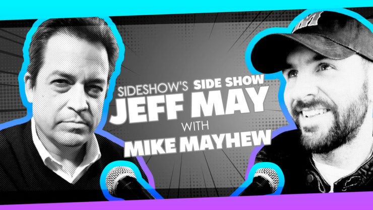 Superstar Comic Artist Mike Mayhew Discusses Creating Covers, Star Wars Scripts, and More on Sideshow's Side Show with Jeff May