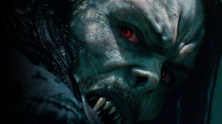 Vampiric Morbius from Sony Teaser Trailer