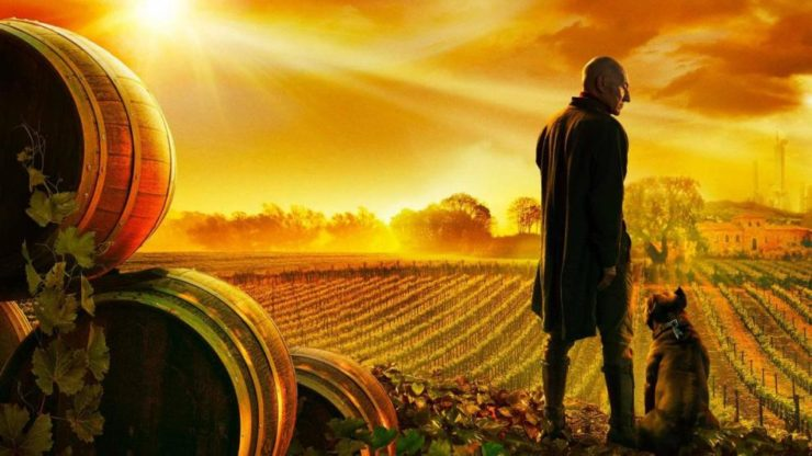 Star Trek Picard Promo with Vineyard and Dog