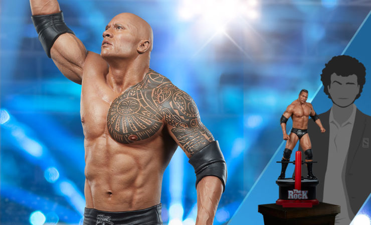 The Rock Modern Version Statue by PCS Collectibles