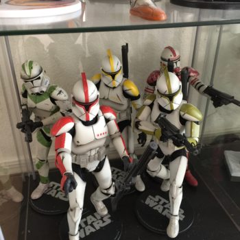 Jason's Collection of Clone Trooper