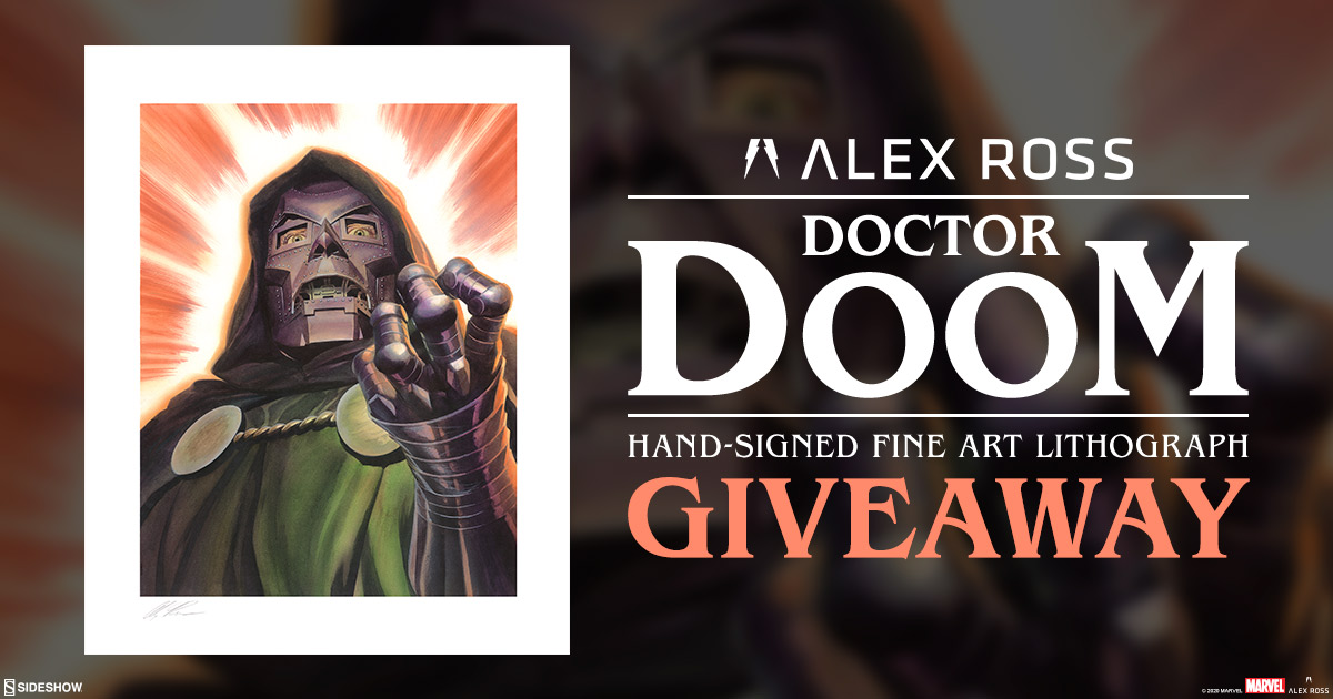 Doctor Doom Fine Art Lithograph Giveaway