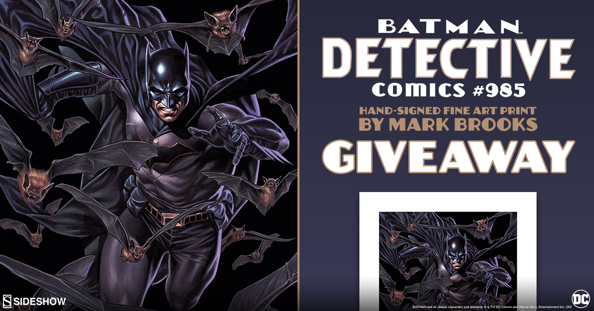 Batman Detective Comics #985 Fine Art Print Giveaway