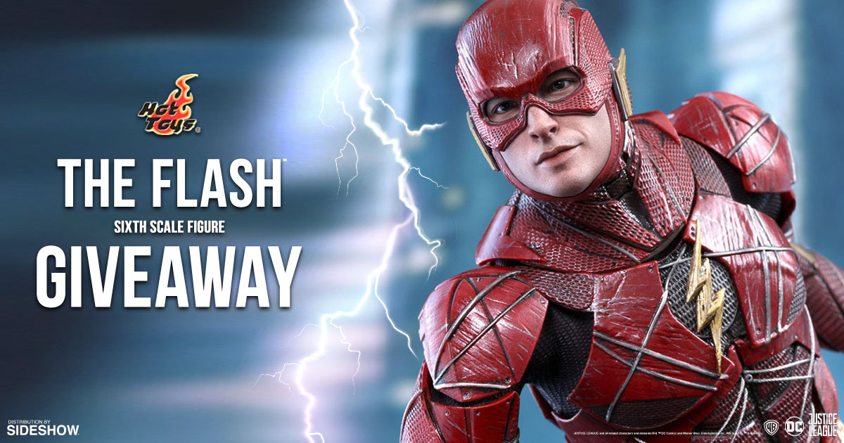 The Flash Sixth Scale Figure Newsletter Giveaway