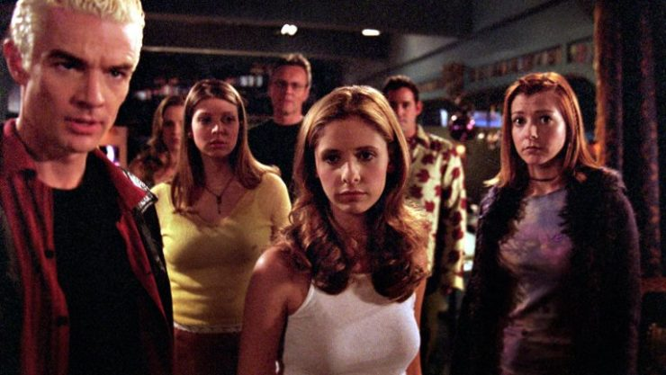 Buffy the Vampire Slayer Cast Shot