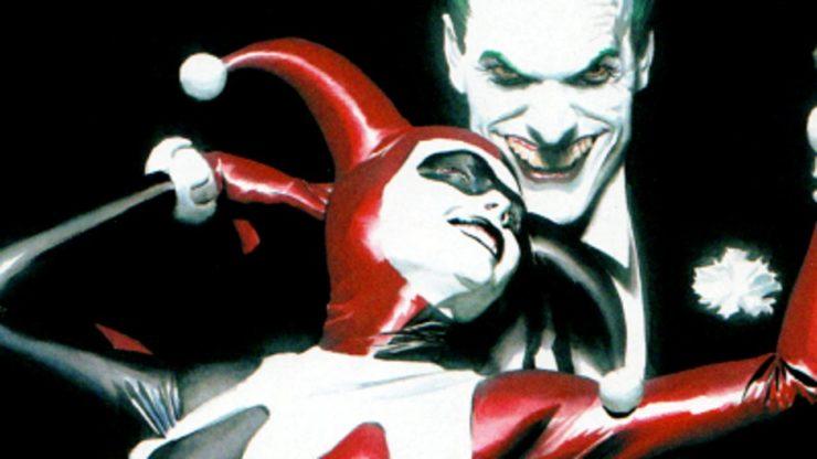 Batman: Harley Quinn Alex Ross Cover