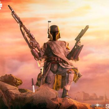 Boba Fett Sixth Scale Figure In Desert