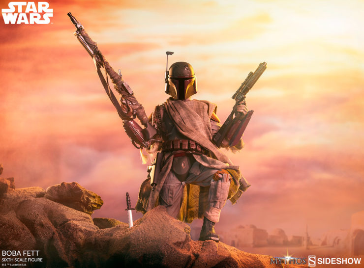 New Photos of the Boba Fett Sixth Scale Figure from Sideshow's Mythos Series
