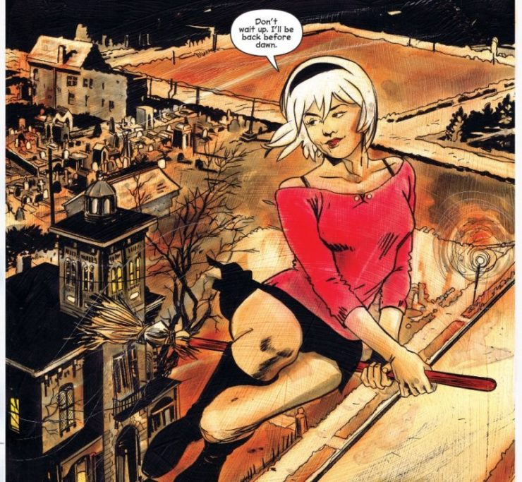 Chilling Adventures of Sabrina Comic- Archie Comics