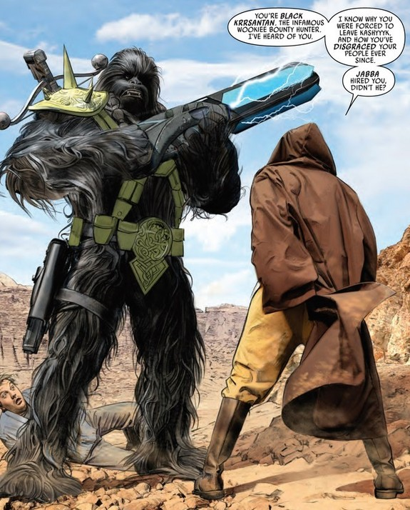 Black Krrsantan- Star Wars Comics