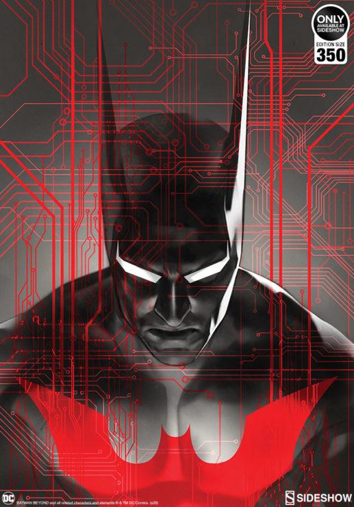 The Batman Beyond Fine Art Print by Artist Ben Oliver