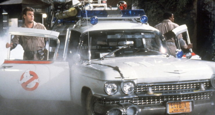 The Ecto-1 Car, Ghostbusters