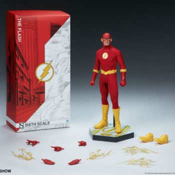 The Flash Sixth Scale Figure full set and accessories