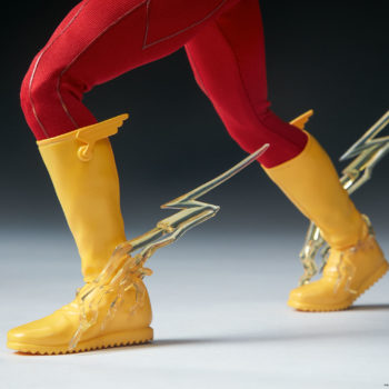 The Flash Sixth Scale Figure lightning on boots