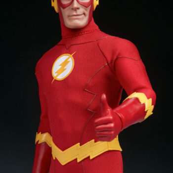 The Flash Sixth Scale Figure thumbs up