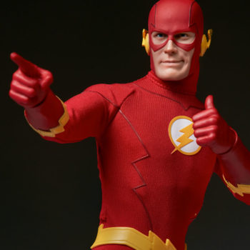 The Flash Sixth Scale Figure pointing left