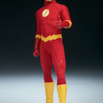The Flash Sixth Scale Figure exclusive full view
