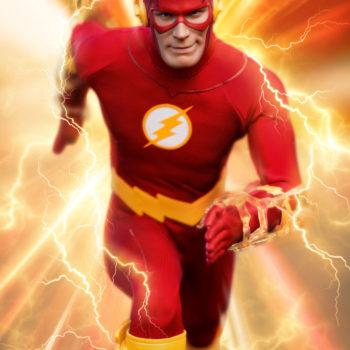 The Flash Sixth Scale Figure lightning