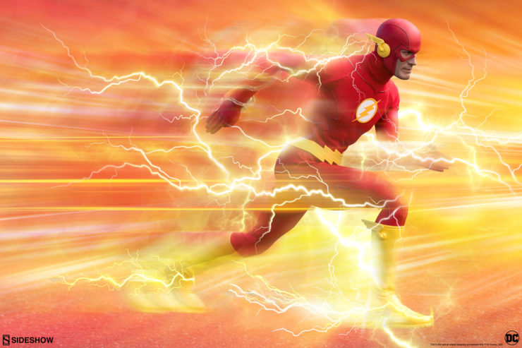 New Photos of the The Flash Sixth Scale Figure