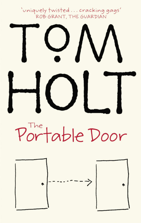 The Portable Door book cover