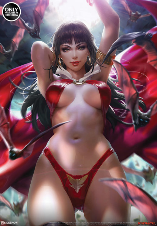The Vampirella Fine Art Print by Artist Derrick Chew