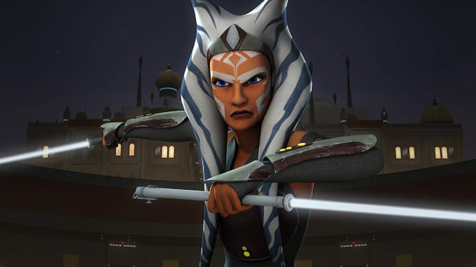 Ahsoka Tano in Star Wars: Rebels