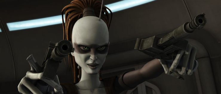 Aurra Sing in The Clone Wars
