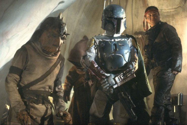 Boba Fett and Background Aliens
