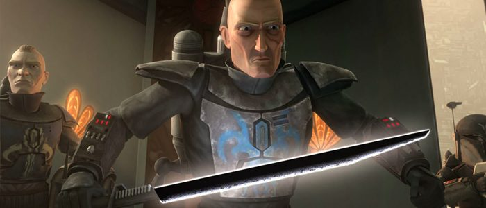 The Dark Saber from Star Wars: The Clone Wars